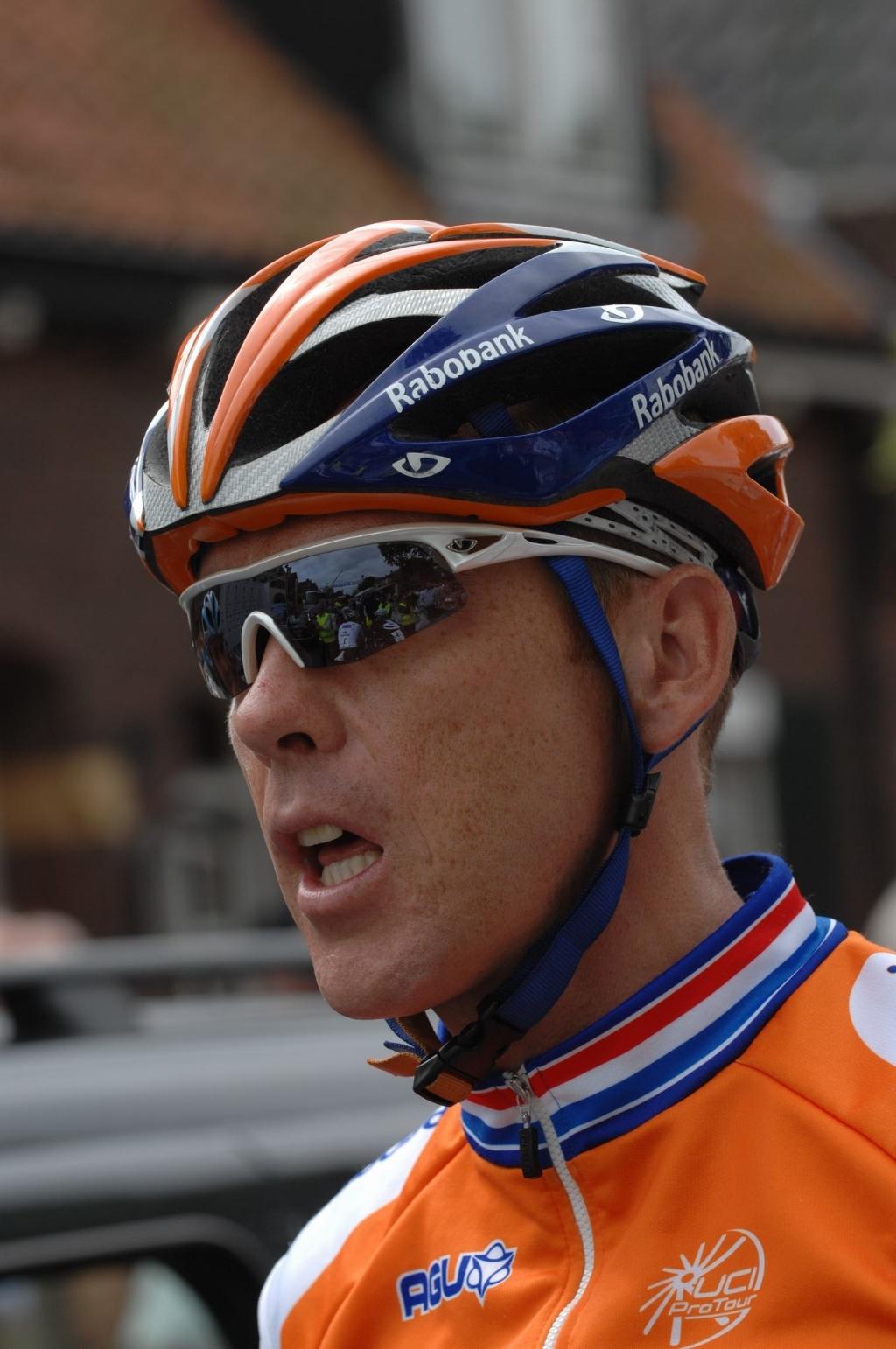 Moerenhout sloot zijn actieve wielercarrière in 2010 af bij de voormalige Rabobank-ploeg.  Archieffoto: Hans van Berkel © Internetbode
