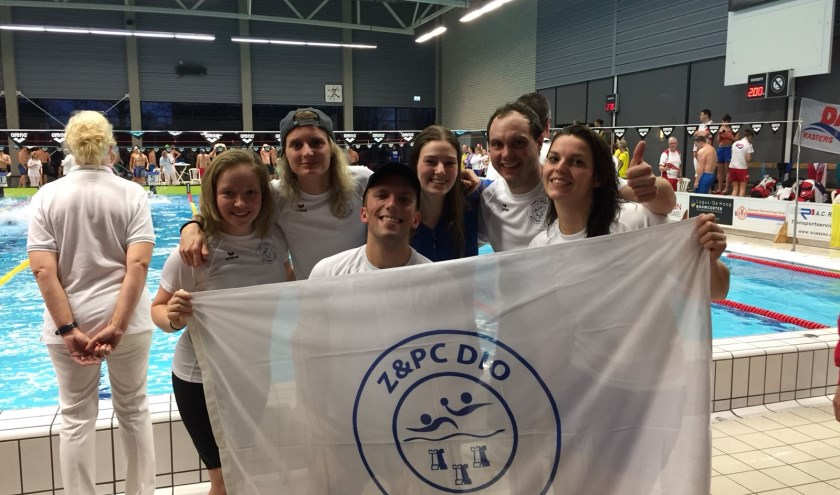 Deelnemers NK Masters Z&PC DIO. v.l.n.r. Joëlle, Susanne, Martino, Whitney, Gijs en Jolanda.