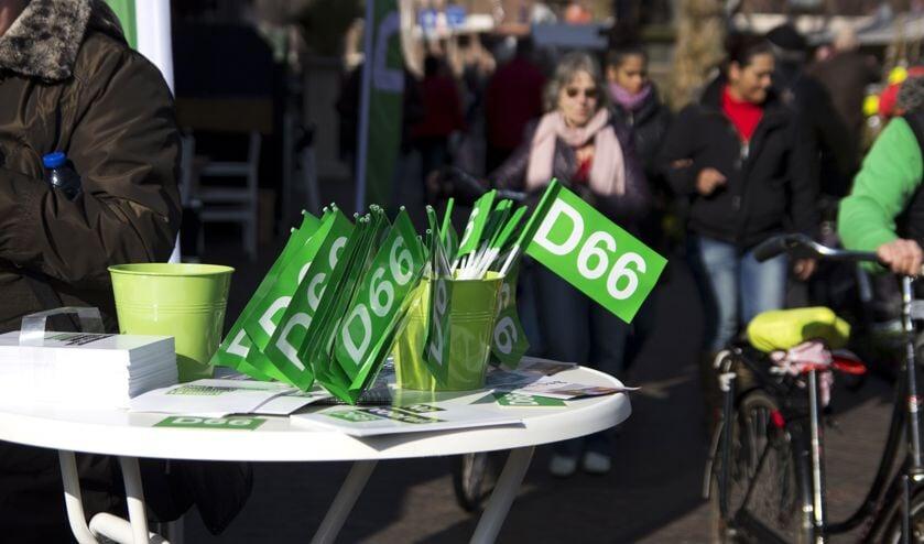Campagne vanuit verkiezingswinkel