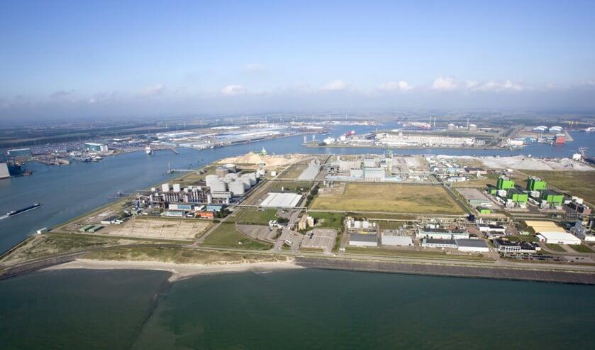 <p>Havengebied Vlissingen-Oost.</p>