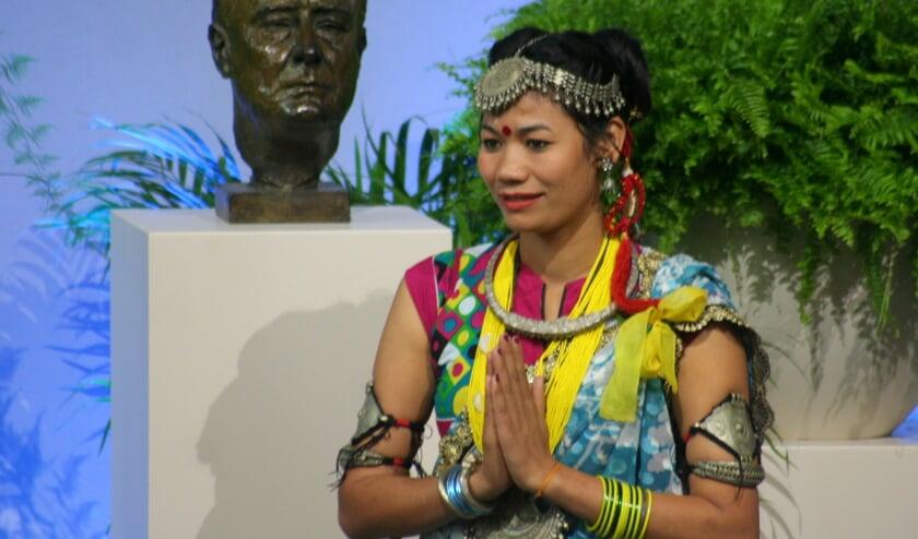 <p>De ceremonie van een eerdere uitreiking van de Four Freedoms Awards in Middelburg.</p>