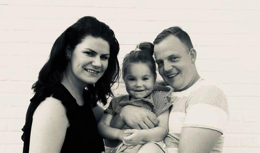 Roos Neele en haar gezin zijn dankbare voor alle donaties