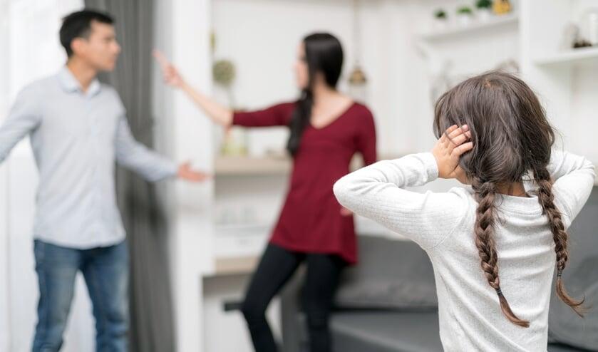 Een scheiding heeft grote gevolgen voor zowel ouders als kinderen FOTO SHUTTERSTOCK
