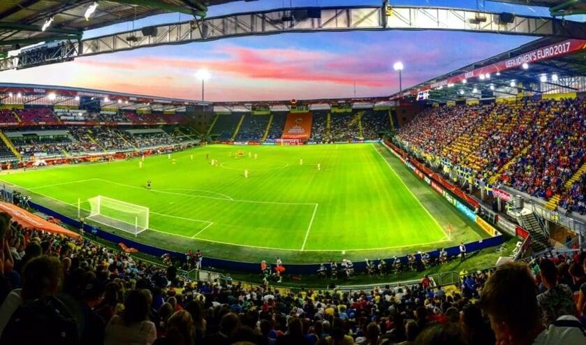 Het Rat Verlegh Stadion tijdens Weuro 2017.
