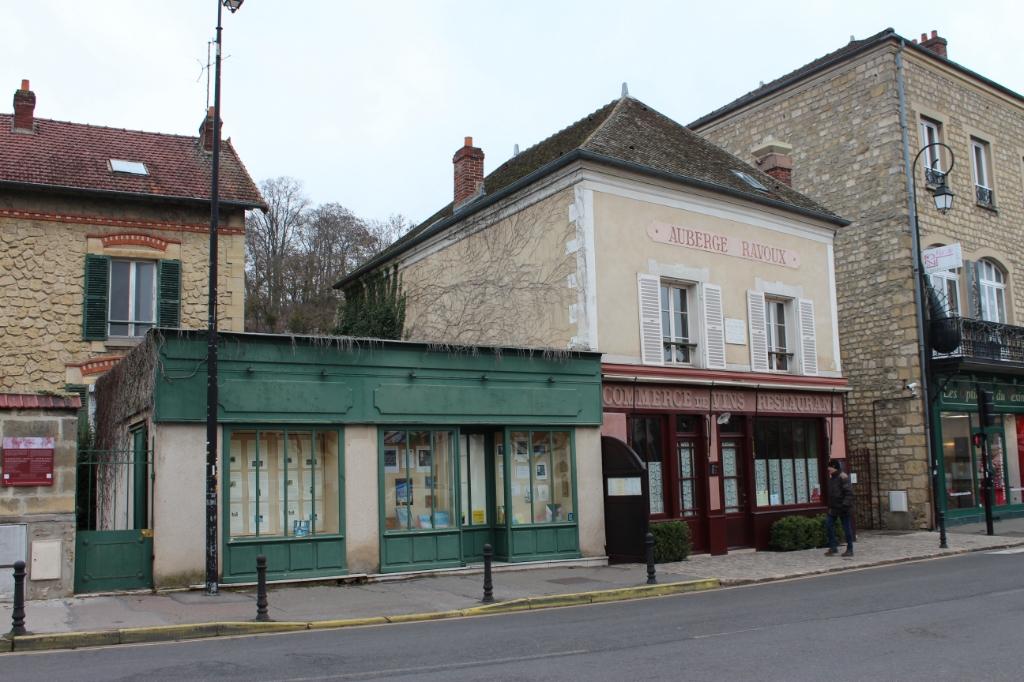 Auberge Ravoux in Auvers-sur-Oise waar Vincent van Gogh is gestorven.  Foto: Claudia Koole © Internetbode
