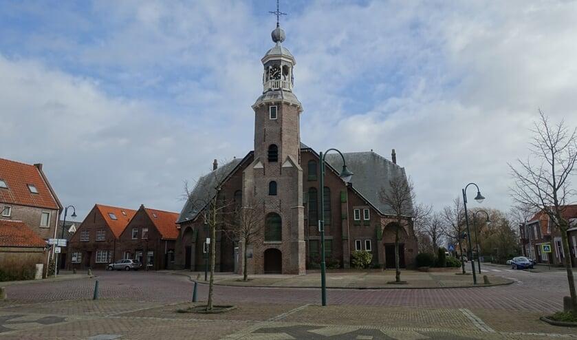 <p>De Hervormde kerk in Stavenisse.</p>