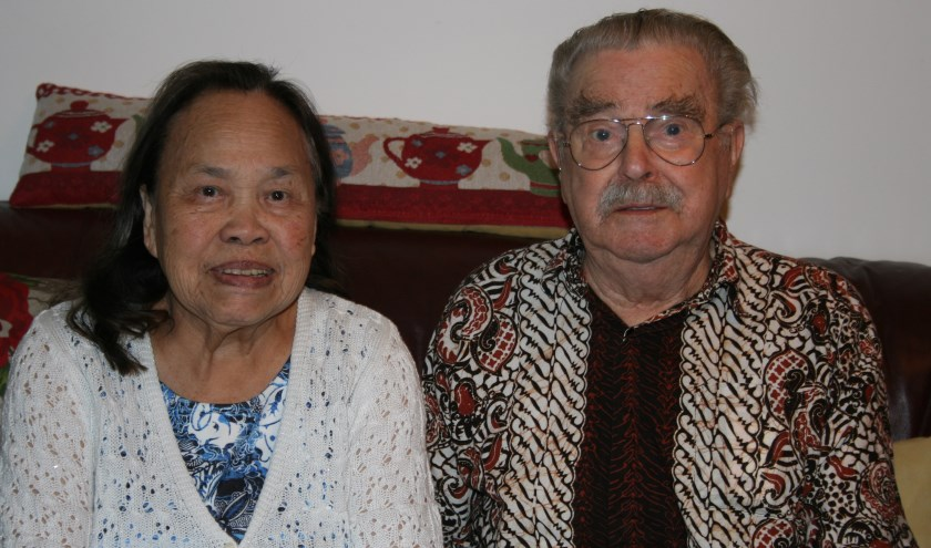 Samen 184 jaar en al meer dan 70 jaar samen FOTO JAN DIRK HUIJSER