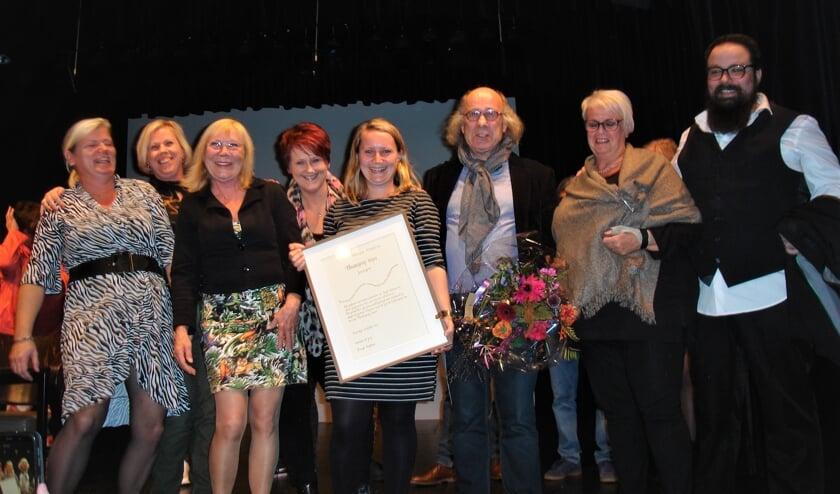 <p>Theatergroep Impro won de cultuurprijs in 2019.</p>