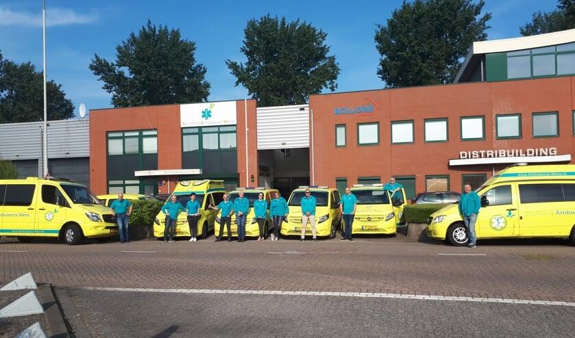 Stichting Ambulance Wens staat dagelijks paraat met meerdere ambulances. FOTO'S STICHTING AMBULANCE WENS