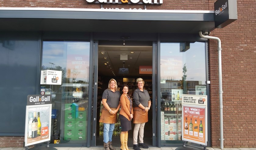 Ilse, Suzana en Liesbeth zijn klaar voor hun Gall en Gallery op zondag 1 december FOTO GALL EN GALL HOOGERHEIDE