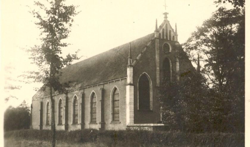 De oorspronkelijke kerk.