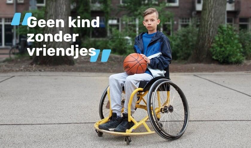 Kind in rolstoel