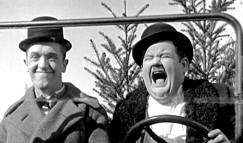 Laurel en Hardy in Big Business