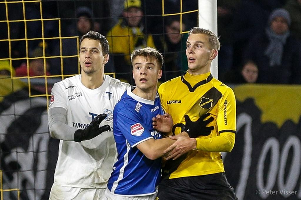 NAC wist één doelpunt te maken in de vijftiende minuut.  Foto: Peter Visser © BredaVandaag