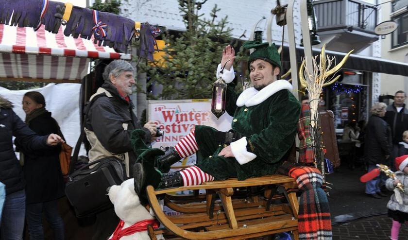 De Kerstmarkt in het Ginneken