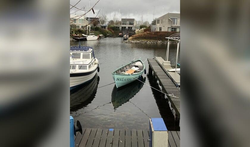 De nieuwe sloep Seelandia.