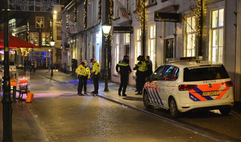 Het centrum werd tijdens de uitgaansnacht opgeschrikt door een schietpartij.