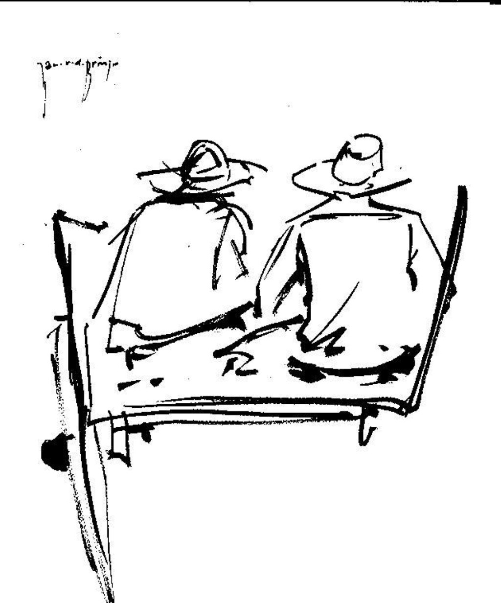 """""""Boeren op ezelskar"""" een van de beste werken van Jan van den Brink.  Foto: Jan van den Brink © Internetbode"""