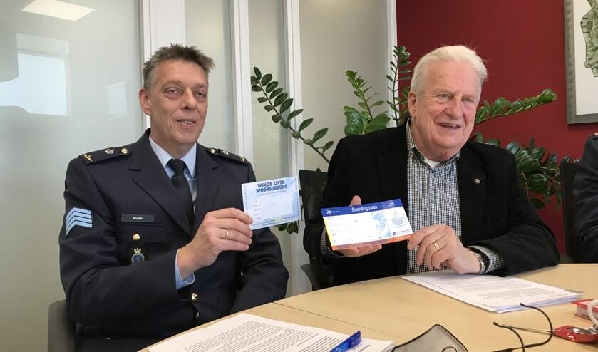 Ronald Middel en Sjaak van Loon