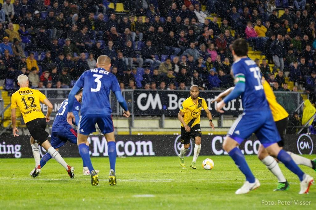 NAC verliest op 24 april kansloos van Feyenoord. Foto: Peter Visser © BredaVandaag