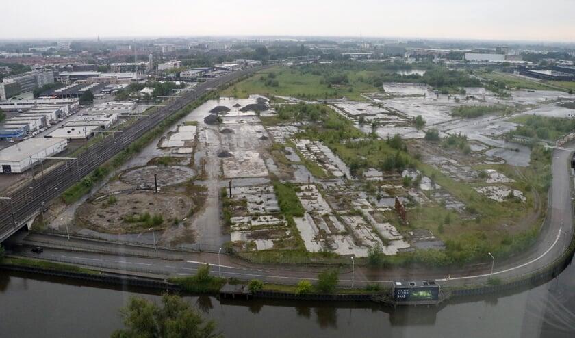 CSM-terrein vanuit Gerechtsgebouw