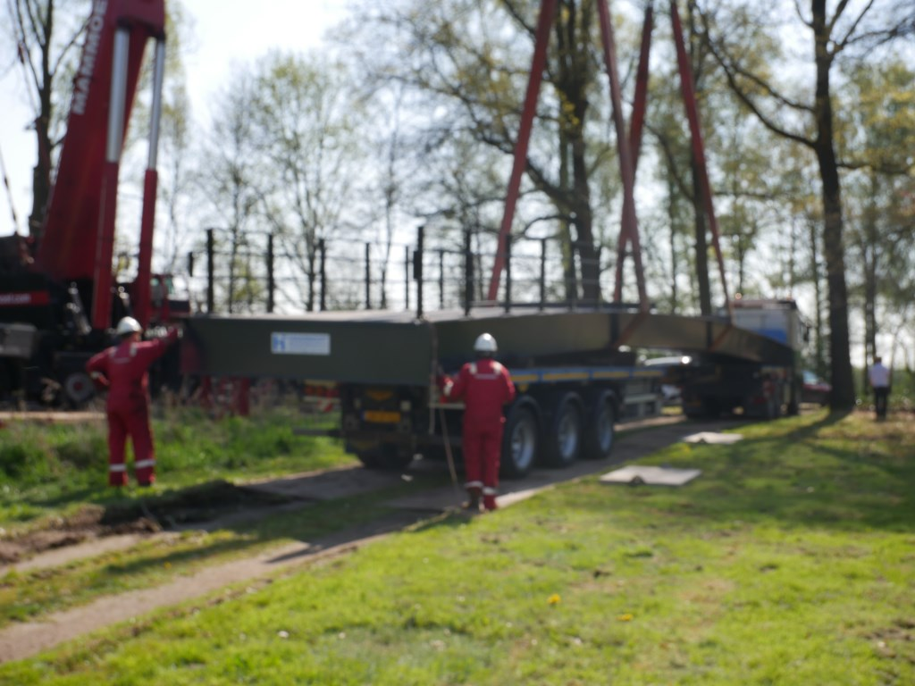 Donderdag 18 april is Breda een brug rijker/ Bij de Klokkenberg verbindt een fietsbrug het landgoed met Ulvenhout. Foto: Wesley van der Linde/groennieuws.nl © BredaVandaag