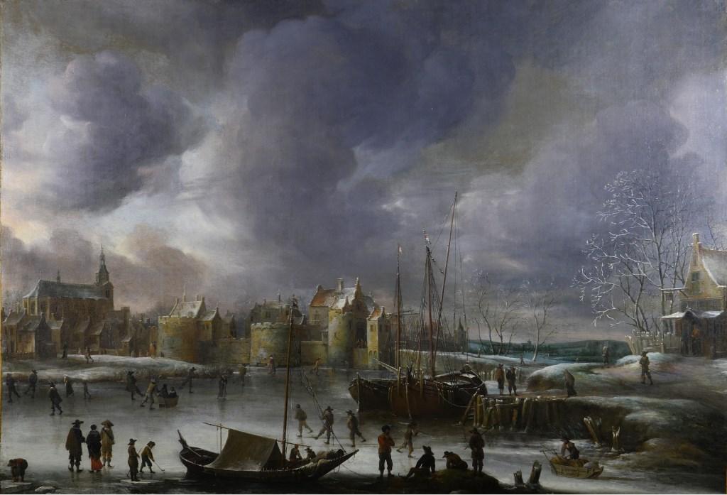 Jan Muller, Beerstraeten Olie op doek, gesigneerd en gedateerd 1637 op slede rechts Foto: Erik Hermida © BredaVandaag