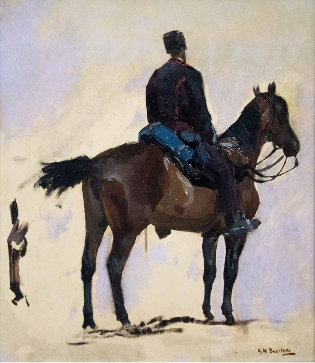 Hein Klaver - Breitner, G.H. - Huzaar te paard Foto: Erik Hermida © BredaVandaag