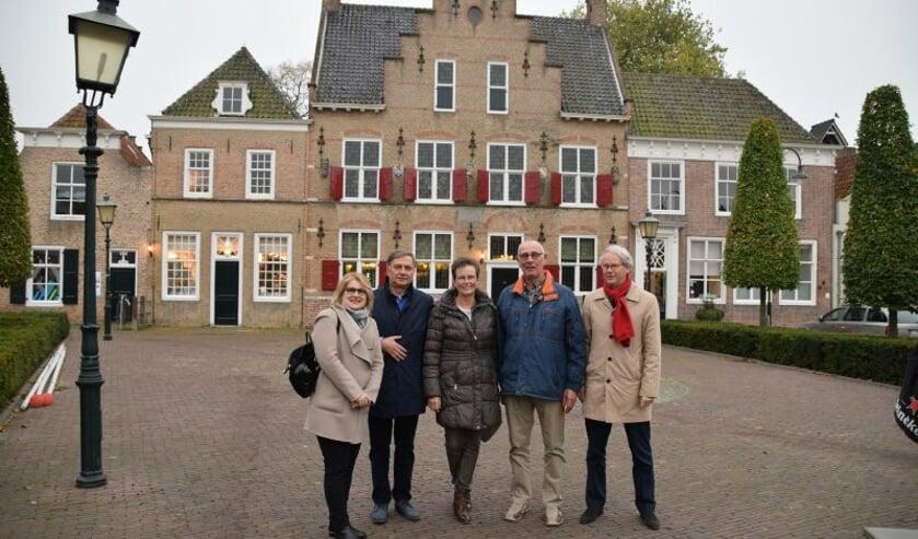 In 2016 bracht een Poolse delegatie uit Itawa een bezoek aan Tholen. FOTO ITAWA.NL