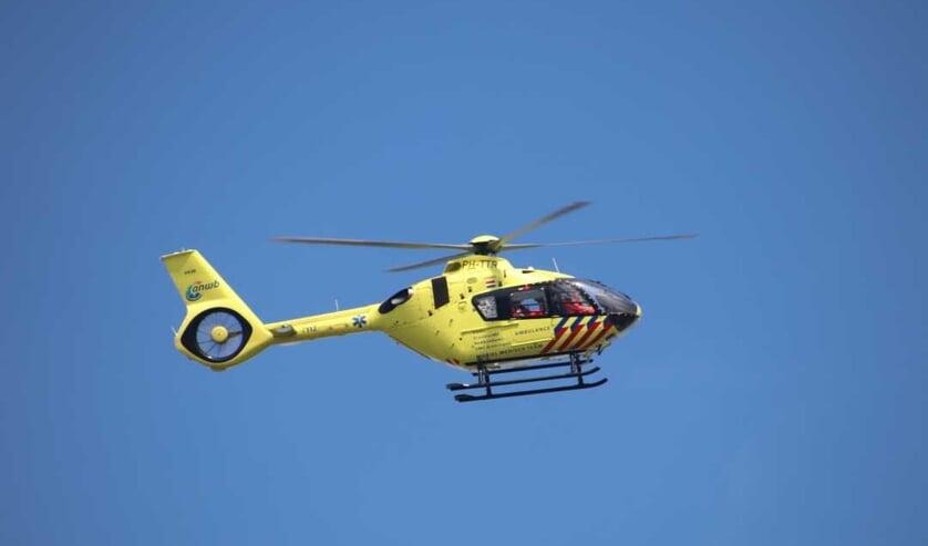 Een traumahelikopter. Foto ter illustratie