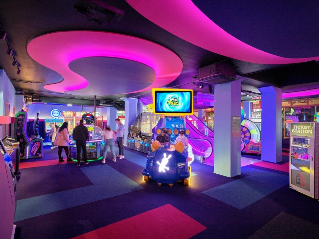 De gloednieuwe arcadehal van Gamestate Foto: Gamestate Foto: Gamestate © BredaVandaag