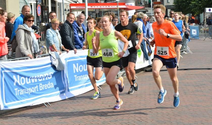Tien van 't Aogje 2017 sprint