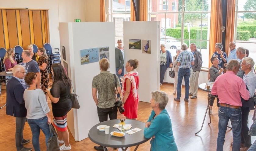 Zaterdag was de opening van de tentoonstelling. FOTO IMAN FASE