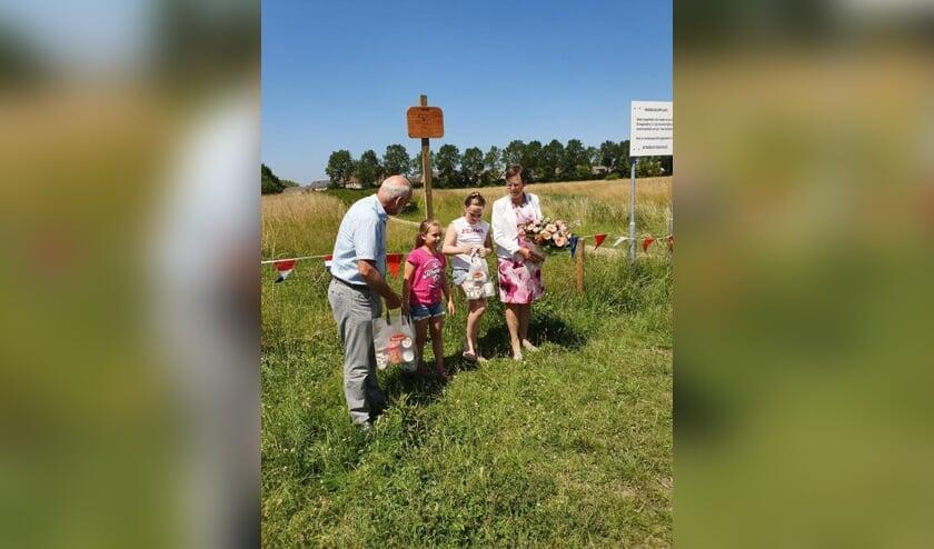 Het initiatief voor het hondenlosloopveld kwam van Christina Biggeman.