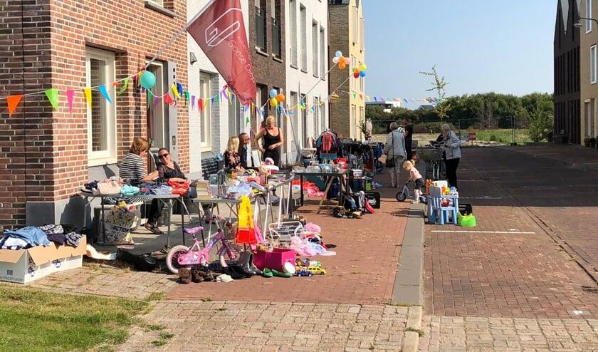Bewoners van de wijk Goese Diep houden op zaterdag 31 augustus een rommelroute.