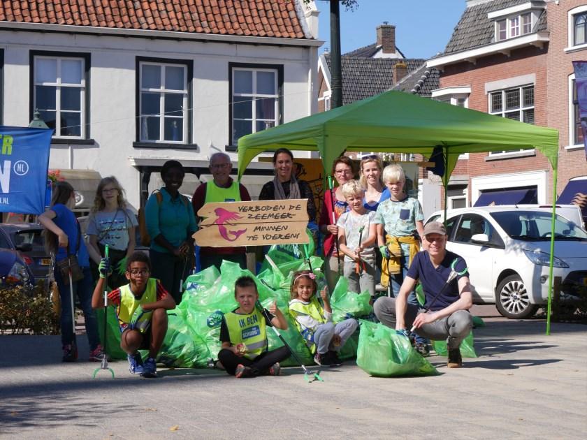 Bredanaren zetten zich in voor een schonere stad.