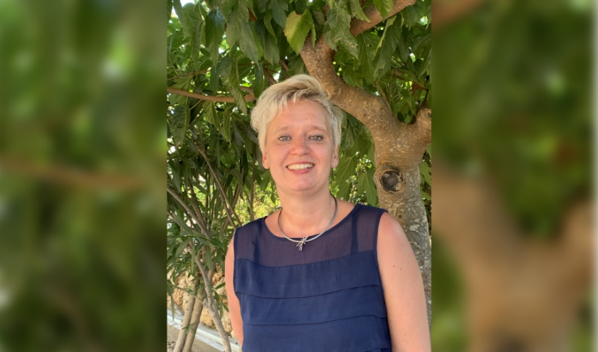 Voorzitter Barbara Erdmann: 'Grofweg de helft van onze leden is weer begonnen, de andere helft kijkt liever nog even de kat uit de boom'