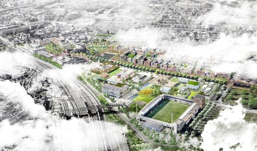 <p>De ontwikkeling van Vlietpark maakt onderdeel uit van het Rondje Roosendaal</p>