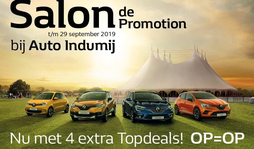 Salon de Promotion bij Auto Indumij