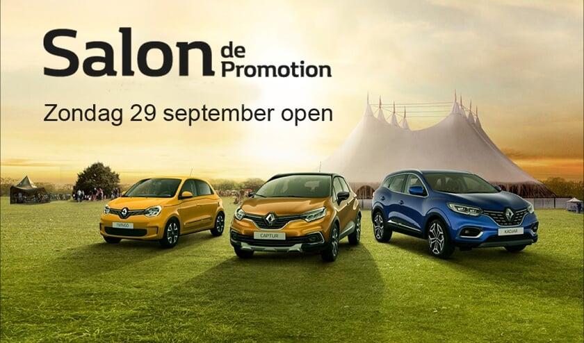 Salon de Promotion bij Auto Indumij.