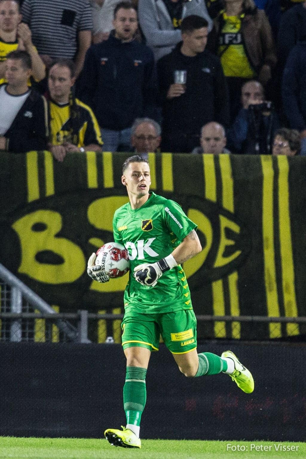 De Bredanaren wisten niet van de Utrechtse ploeg te winnen.  Foto: Peter Visser © BredaVandaag