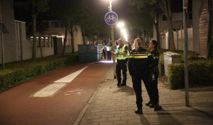De politie kwam met spoed ter plekke.