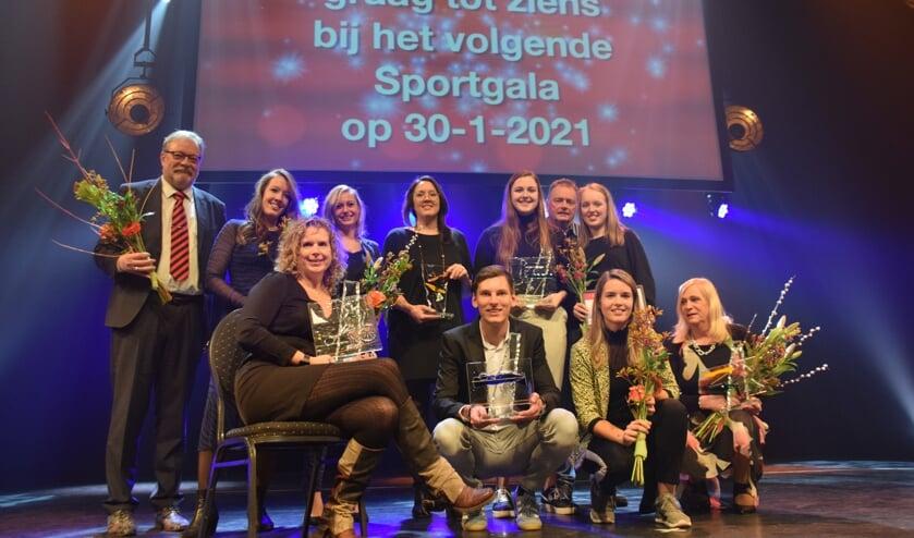 Etten-Leurs beste sporters van 2019. FOTO STELLA MARIJNISSEN