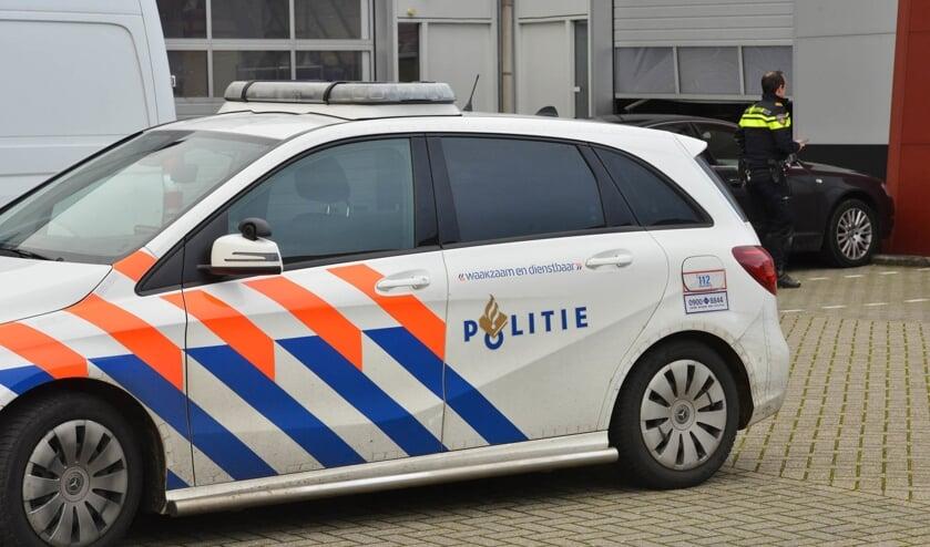 De politie doet onderzoek bij het bedrijf.