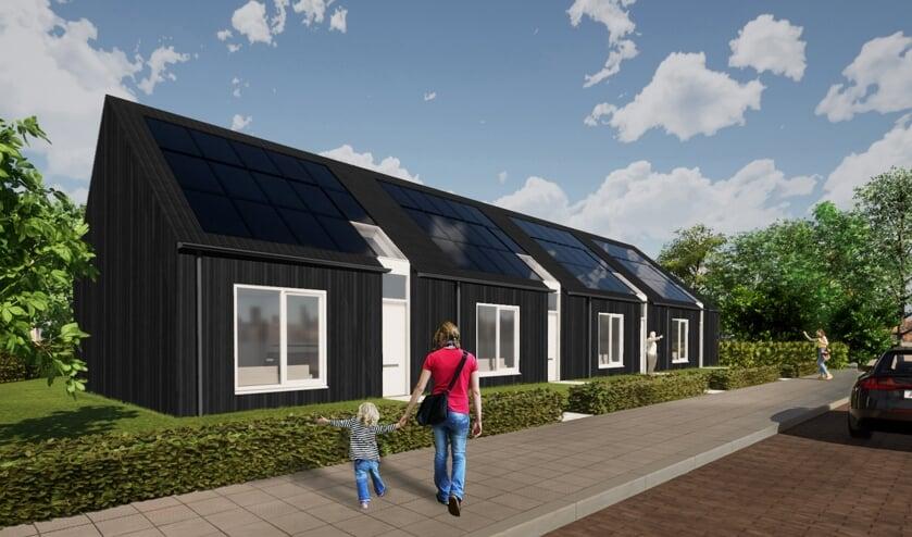 De 4 nieuwe woningen zijn voor kleine huishoudens van personen vanaf 55 jaar.
