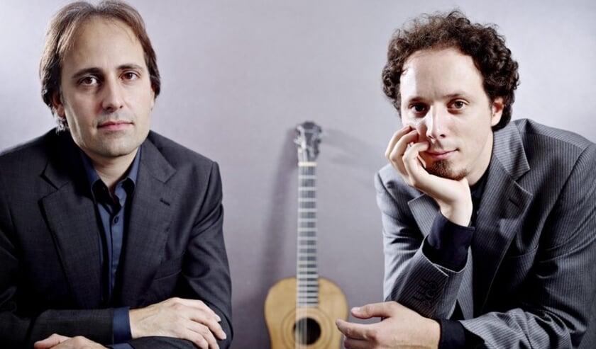 Gitaristen Izhar Elias en Fernando Cordas.