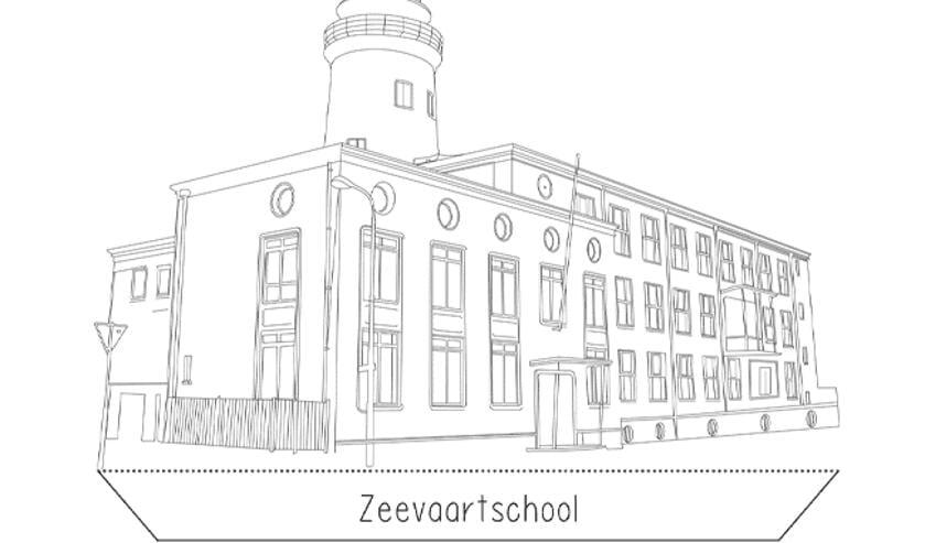 De Zeevaartschool.