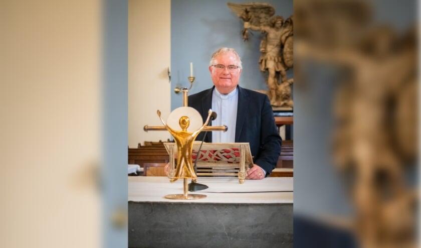 <p>Pastoor Hans van Geel: &#39;We moeten dit echt samen doen en bidden dat God ons helpt onszelf te houden aan de coronamaatregelen&#39; </p>