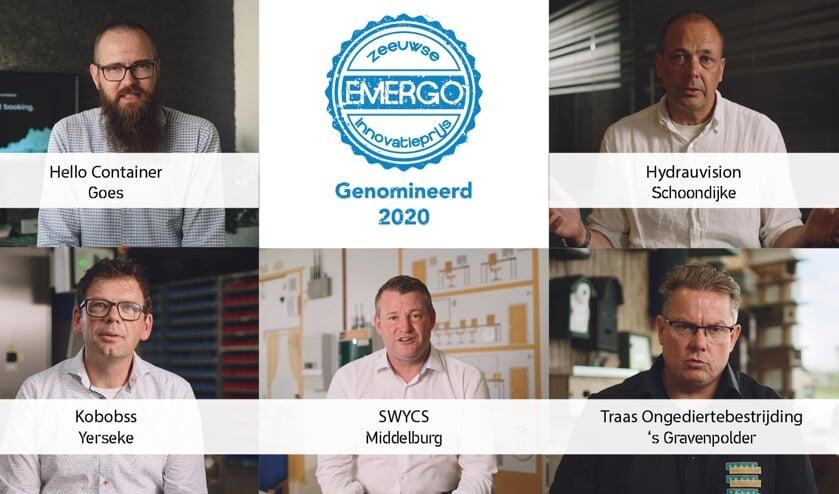 <p>De genomineerden voor 2020.</p>
