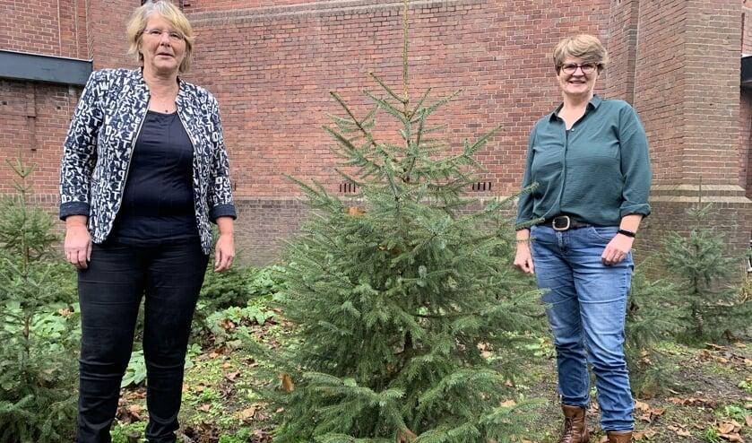 <p>Marjo den Bakker en Mary Zopfi vieren kerstmis samen met jou</p>